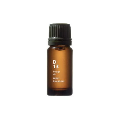 Design air D13 MISTY CHARCOAL bottle in 10ml flesje gevuld met aroma