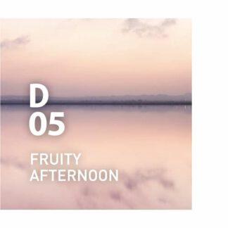 Design air D05 FRUITY AFTERNOON Een citrusgeur met een unieke twist die het plezier van lange, zonnige middagen oproept Ingrediënten: grapefruit, limoen, viooltjesblad, anijs, marjolein, enz.