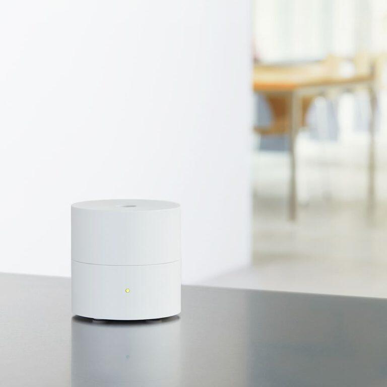 Fan diffuser Ko Wit is een geursysteem voor thuis van AT-AROMA | deurdesign