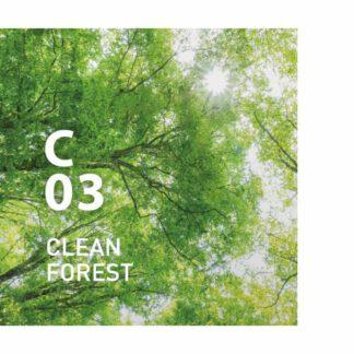 C03 CLEAN FOREST clean air van AT AROMA.Deze geur zuivert de lucht en geeft de waardige sfeer van een bos Ingrediënten: Eucalyptus Globulus, den, Hinoki