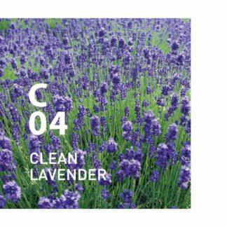 c04 clean lavender clean air design at aroma. Deze geur zuivert de lucht met opwindende bloemige tonen Ingrediënten: Eucalyptus Globulus, Spike Lavender, NiaouliDeze geur zuivert de lucht met opwindende bloemige tonen Ingrediënten: Eucalyptus Globulus, Spike Lavender, Niaouli