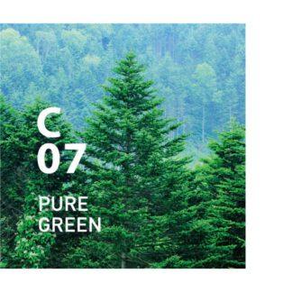 C07 PURE GREEN clean air van AT AROMA. is een verfrissende bosgeur die de luchtzuiverende kracht van Sakhalin-spar gebruikt .Ingrediënten: Sakhalin Spar, Eucalyptus, Hinoki, etc.