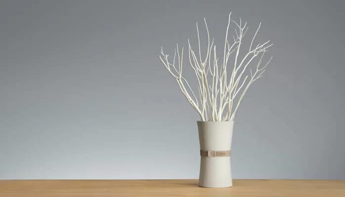 De professionele geursysteem, Aroma branch voegt flair toe aan uw ruimte met deze vaas verspreider van TOKONAME.