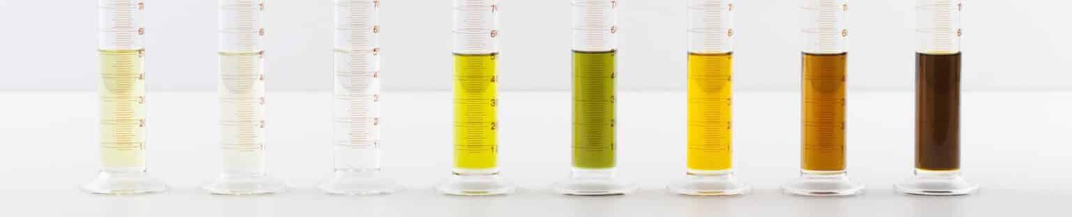 Geurmarketing en geurbelving in een foto, hier zie je verschilende soorten geuren in een tube.