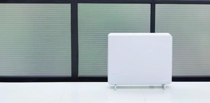 De professioneel geursysteem all in one type is wit van kleur en het staat heel mooi in uw kamer of kantoor.