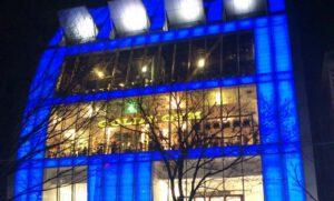 Gold Gym Japan voorzien van Aroma Space design