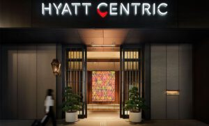 Hyatt Centric Ginza voorzien van Aroma Space design