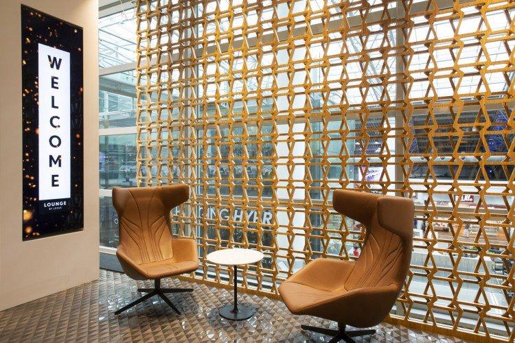 Lexus Airport Lounge voorzien van Aroma Space design