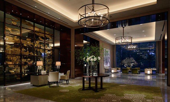 Palace Hotel Tokyo voorzien van Aroma Space design
