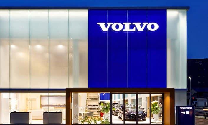 Volvo voorzien van Aroma Space design